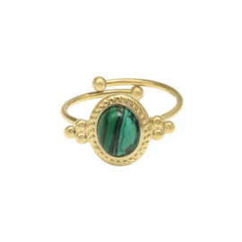 Ring Mystic Jewels  - green