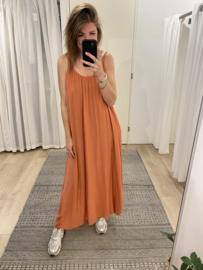 Summer long dress - terra