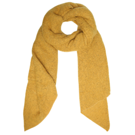 Comfy scarf - yellow