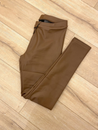 Leatherlook legging Norfy - brown