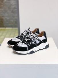 DWRS Label Los Angeles sneakers - zwart / wit