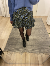 Flower skirt Rebelz - blue