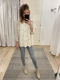 Embroidery jacket 2.0 - beige