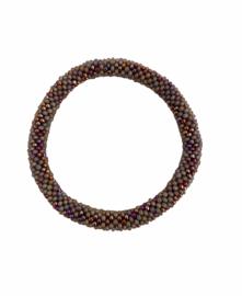 Roll on bracelet Loffs - lila dark