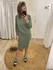 Sweaterdress - army green