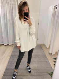 Basic smog blouse - ecru