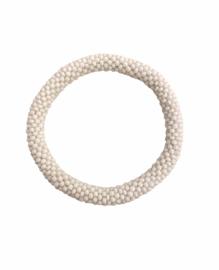 Roll on bracelet Loffs - white