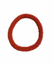 Roll on bracelet Loffs - red