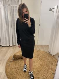 Sweaterdress - black