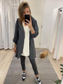 Capuchon cardigan - grey