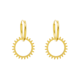 Earrings Keep Turning - gold