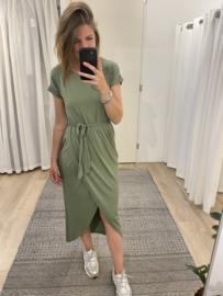 Overlay dress - army green