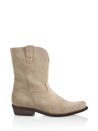 DWRS Label Toscane western boots - suède beige