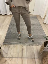 Jog pants - taupe