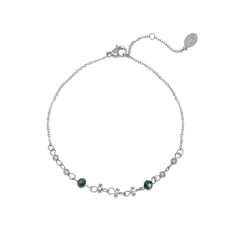 Bracelet Into The Night - silver