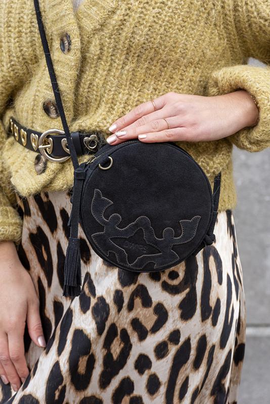 DWRS Label Bergamo bag - suède black