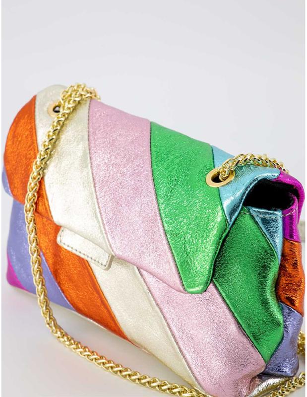Rainbow small bag - gold