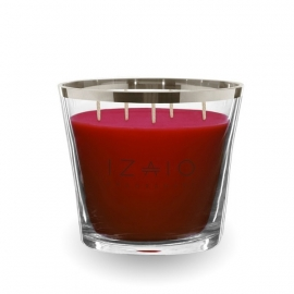 IZAIO CANDLE SOHO ARGENTO RED