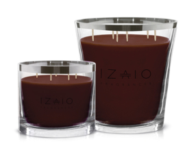 IZAIO CANDLE SOHO ARGENTO MYSTIC BROWN