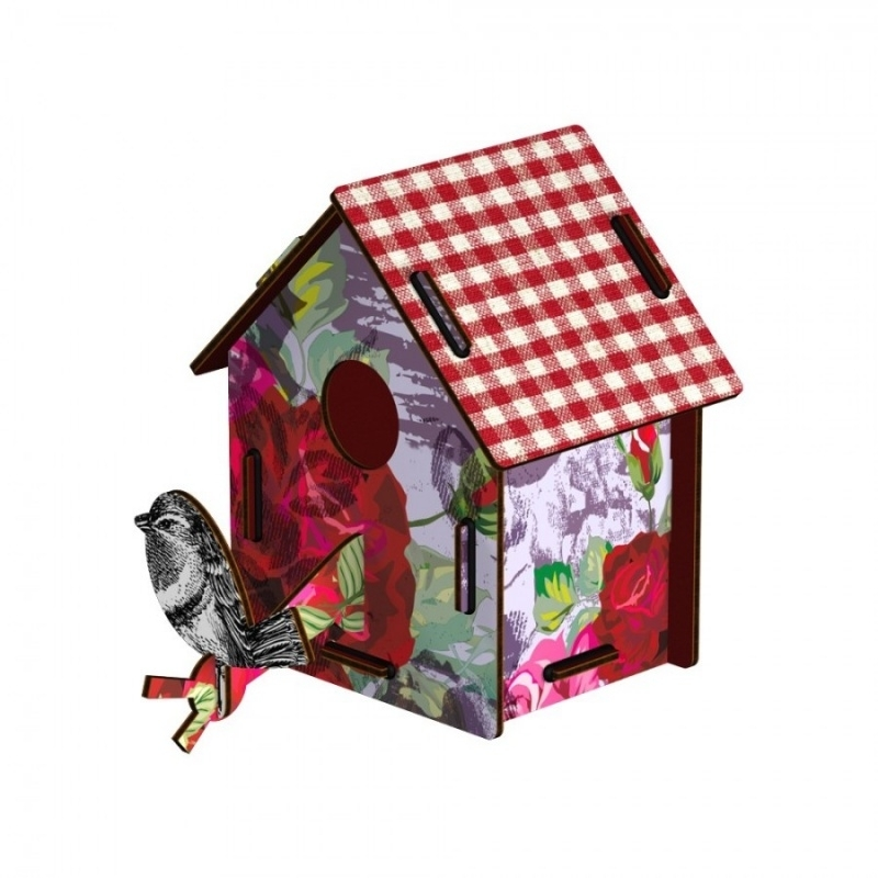 Bird House Small - Enjoy The Crumbs
