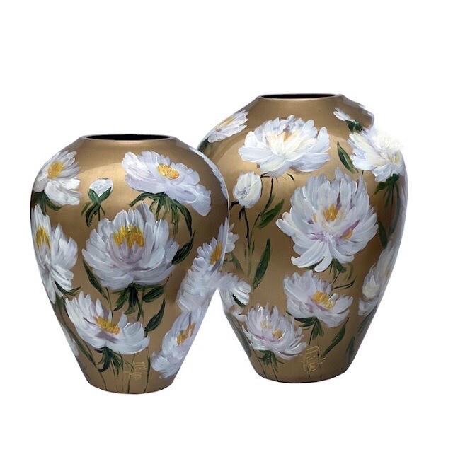 Vaas Flower Gold(Milou van Schaik Martinet)
