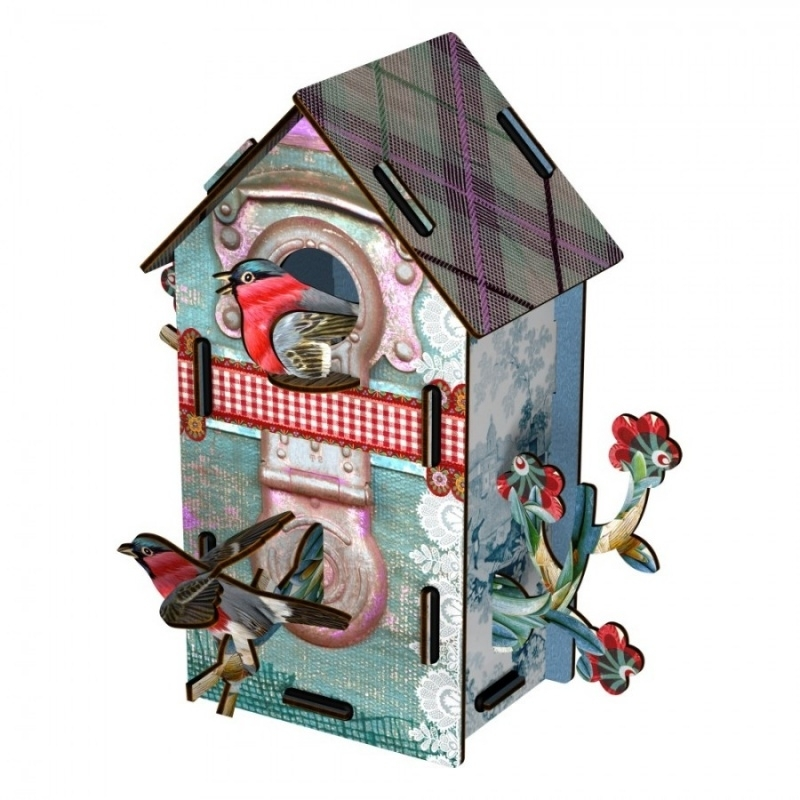 Bird House 2 Floors - Playmates