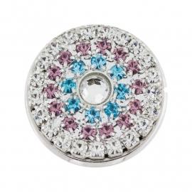 CRISTALLO Z+ | roze-blauw-zilver