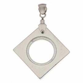 NEO HANGER | vierkant zilver