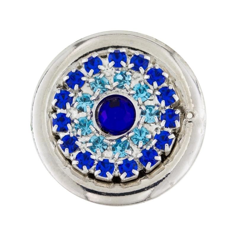 CRISTALLO Z   blauw-azuur