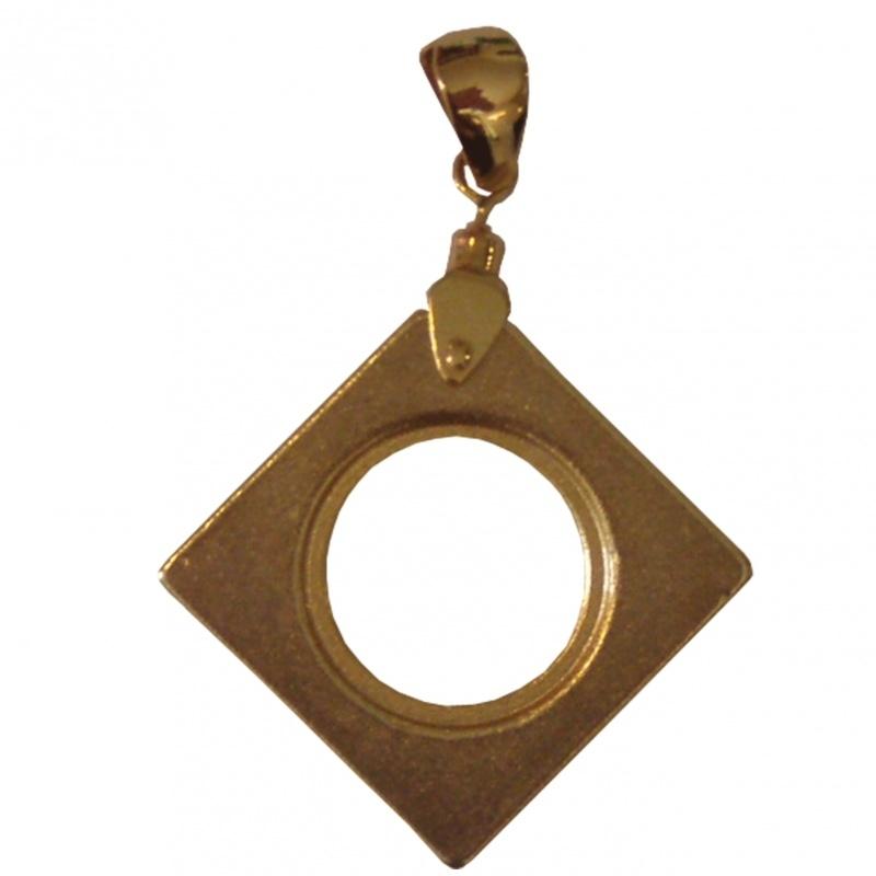 NEO HANGER | vierkant goud