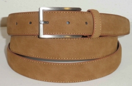Cognac leren businessriem - 047509