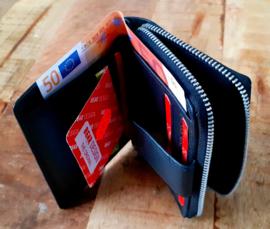 ritsportemonnee BEAR DESIGN Fr 9879 black