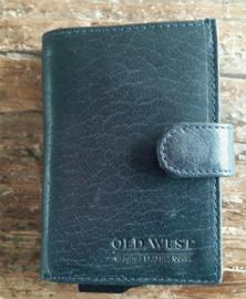 Aluminium credit card houder 17202 blauw