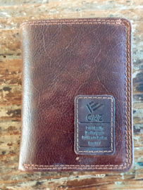 Aluminium credit card houder ld3 bruin