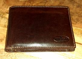 BEAR DESIGN Heren Billfold - RO 7254 Brown