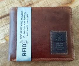 Leren RFID databeschermings portemonnee 1