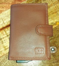Aluminium credit card houder 17201 cognac