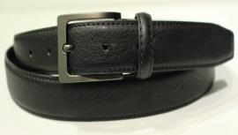 zwart leren businessriem 3 cm breed -046101