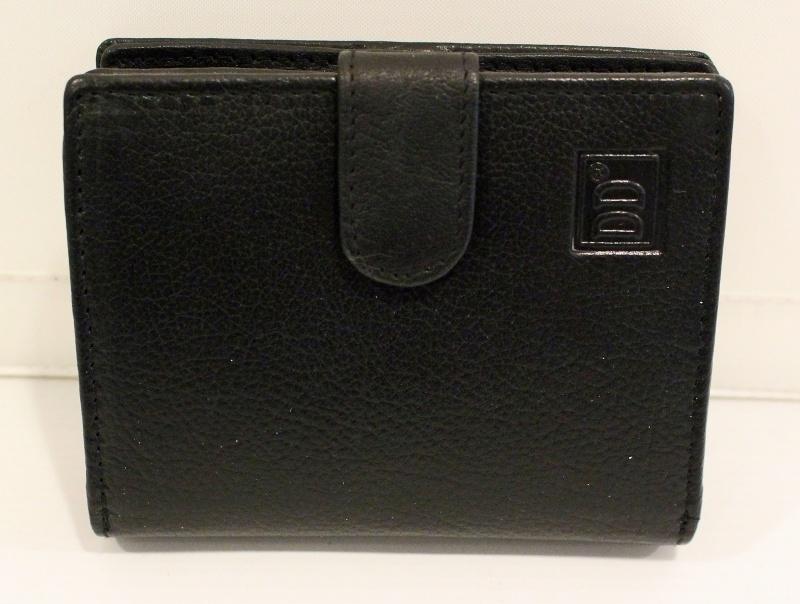 Heren rits portemonnee zwart -  01C402
