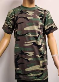 Leger shirt camouflage volwassenen