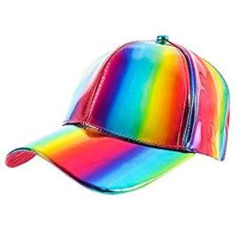 Regenboog Cap