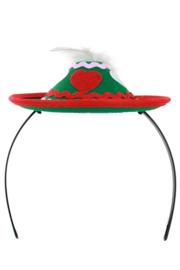 Oktoberfest hoedje met diadeem