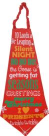 Mega stropdas silent night
