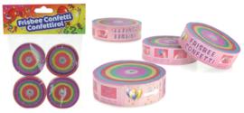 Frisbee confetti