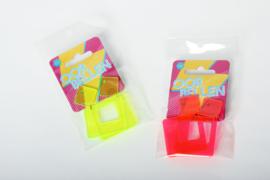 Neon oorbellen voor je 80's feest