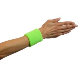 Polsband neon groen