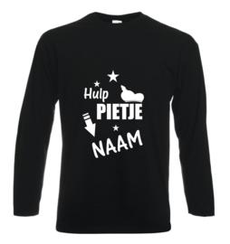 Shirt Hulp Pietje met eigen naam