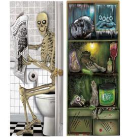 Halloween deur decoratievlag