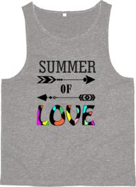 Tanktop met lage armgaten Summer of Love pijlen