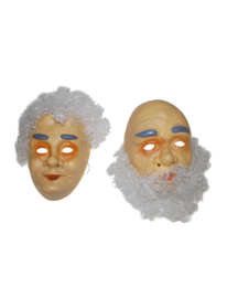 Abraham of Sarah masker met haar